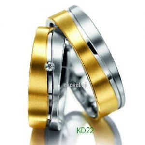 Cincin Tunangan Elegan KD22