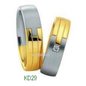 Cincin Tunangan Murah Model KD29