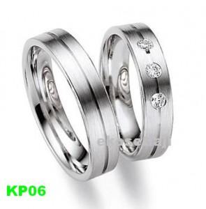 Cincin Kawin Palladium Simpel KP06
