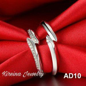 Cincin Tunangan unik AD10