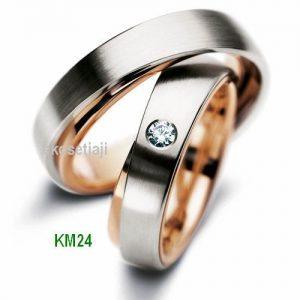 Cincin Tunangan Rosegold KM24