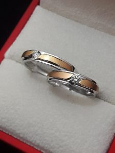 Cincin Tunangan Rosegold
